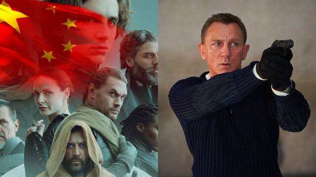China dice sí a los estrenos de 'Dune' y 'Sin tiempo para morir' en salas de cine