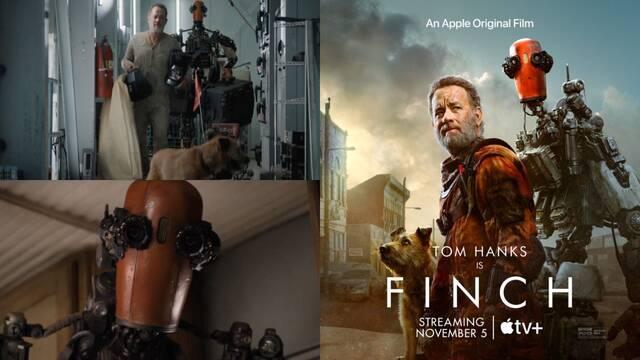 Tráiler de 'Finch', ciencia ficción con Tom Hanks, un perro y un robot en Apple TV+