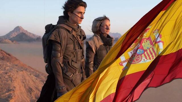 'Dune' arrasa en la taquilla española y recauda más de 2 millones de euros