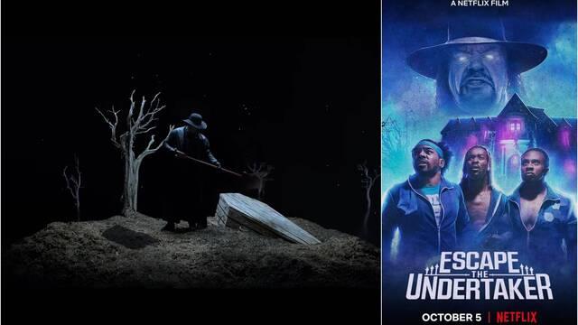 Escape the Undertaker: WWE, rol y terror en la nueva película interactiva de Netflix