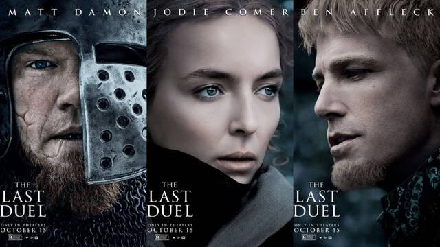 'The Last Duel', lo nuevo de Ridley Scott, presenta pósters centrados en sus personajes