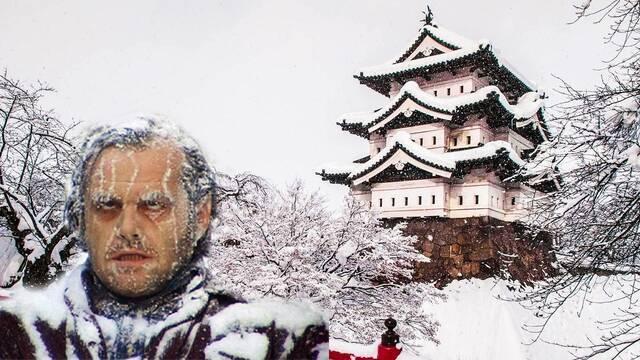 Aomori, la norteña ciudad japonesa donde más nieva de todo el mundo