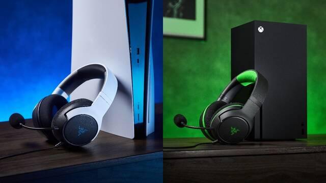 Razer presenta sus nuevos auriculares para PS5, XSX y PC