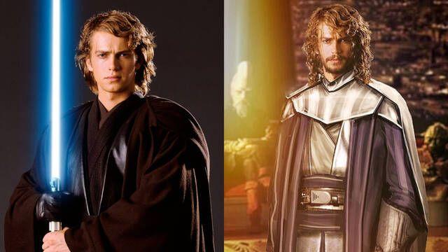 Star Wars: Imaginan el aspecto de Anakin Skywalker como un viejo Maestro Jedi