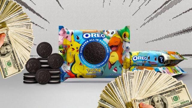 Oreo lanza galletas de Pokémon y los especuladores piden hasta 25.000 euros por ellas
