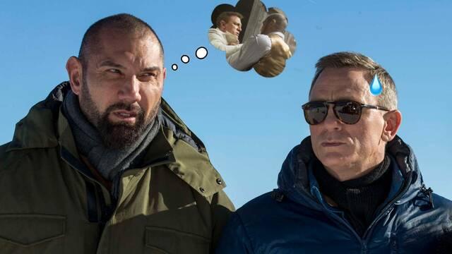 Daniel Craig recuerda cuando le rompió la nariz a Dave Bautista y salió corriendo