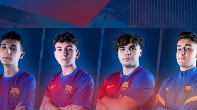 El FC Barcelona Esports presenta a su nueva plantilla de Rocket League