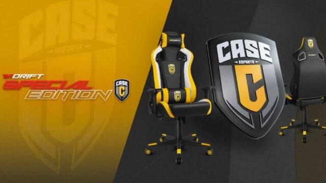 Drift presenta la silla para jugar de Case Esports, el club de esports de Casemiro