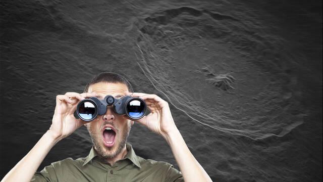 Así es la imagen de la Luna con mayor resolución tomada desde la Tierra