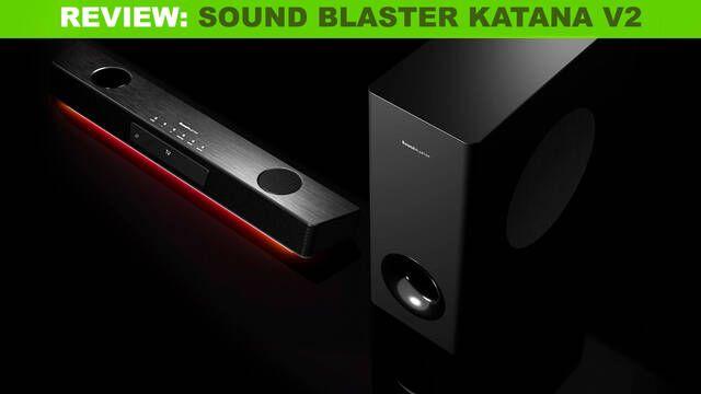 Análisis Sound Blaster Katana V2, una barra de sonido TOP para jugar en PC, PS5 o XSX