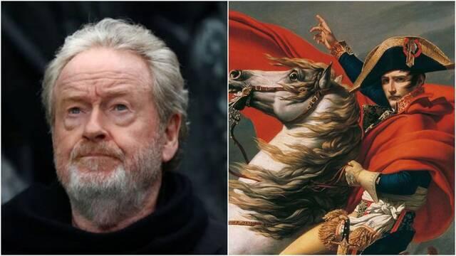 Ridley Scott pondrá en marcha Gladiator 2 después de Kitbag, su película de Napoleón