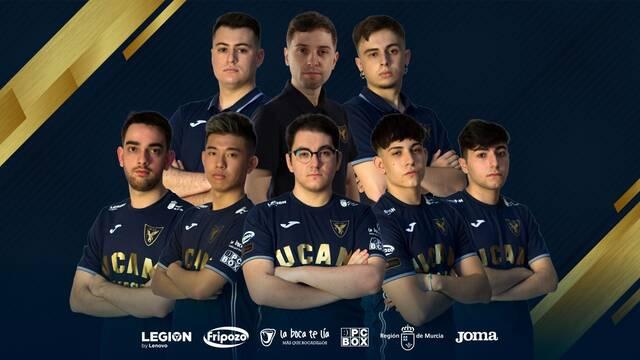 UCAM Esports Club presenta a su nuevo equipo academia de League of Legends