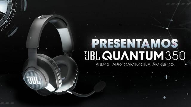 JBL nos presenta Quantum 350, sus auriculares inalámbricos para jugadores de alta gama