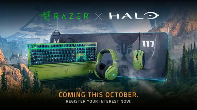 Razer presenta los periféricos oficiales de Halo Infinite para PC