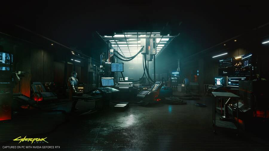 Imagen de Cyberpunk 2077 a 4K y con RTX.