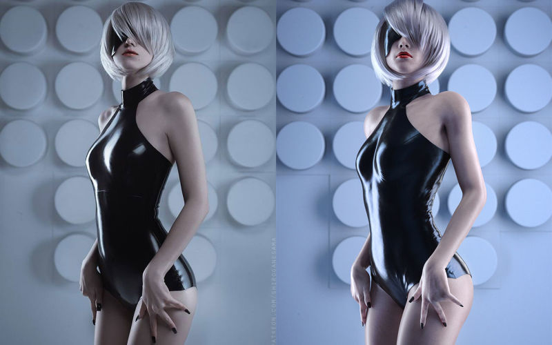 Arte 3d vs cosplay