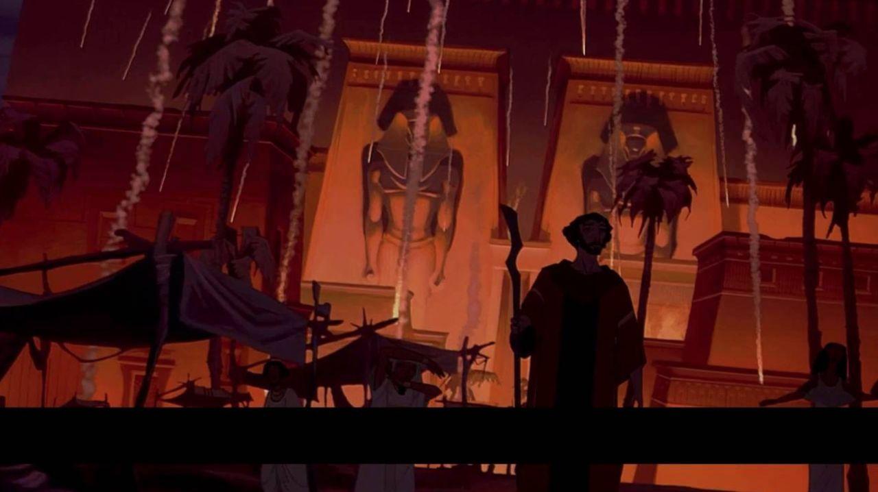 Mejores películas HBO - El Príncipe de Egipto
