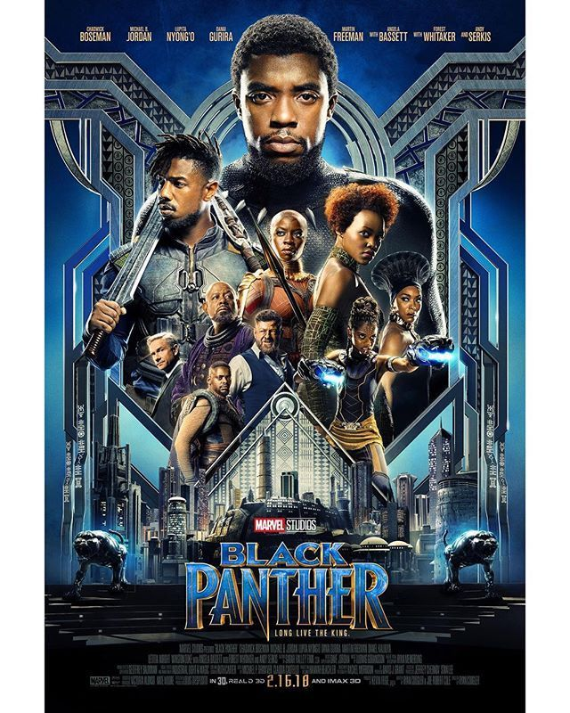 Póster Black Panther