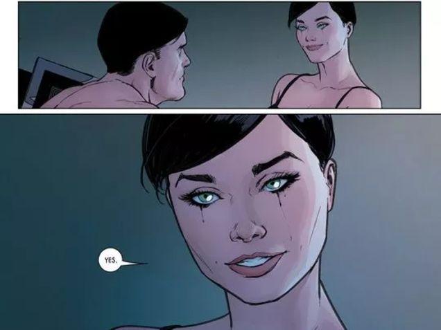 Batman y Catwoman boda