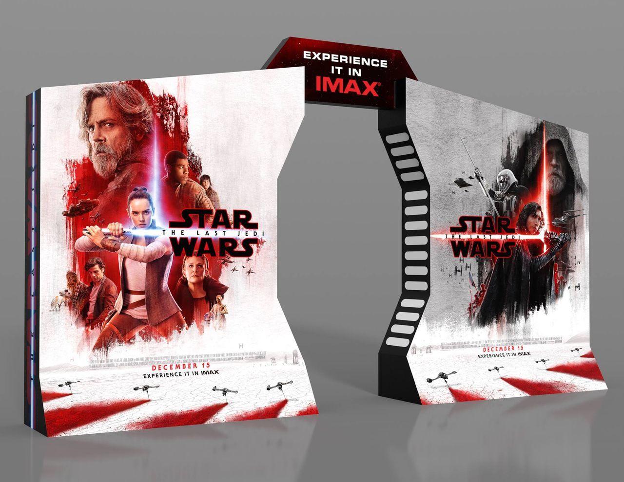 póster IMAX 3D de Star Wars: Los Últimos Jedi