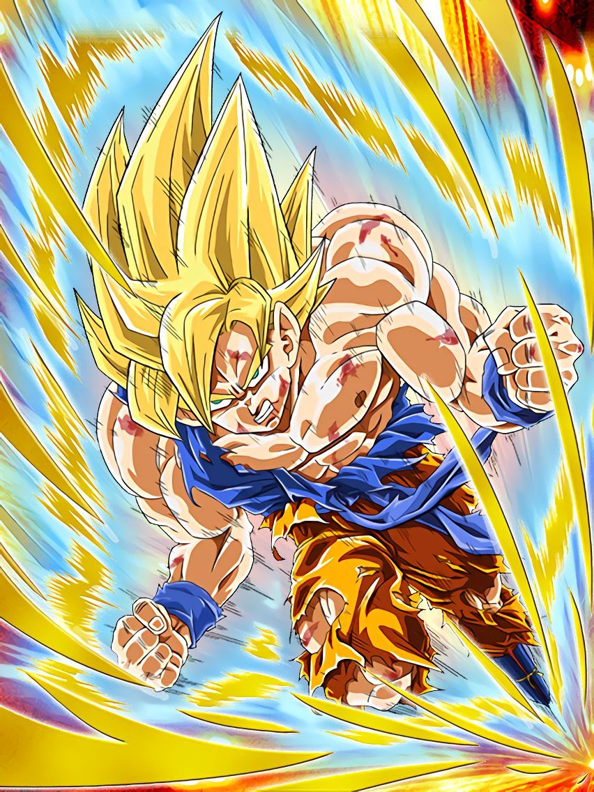 Son Goku Super Saiyajin