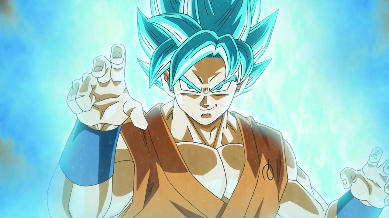 Son Goku Super Saiyan Blue God
