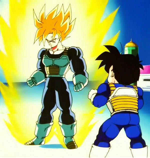 Son Goku Super Saiyan Segunda Etapa