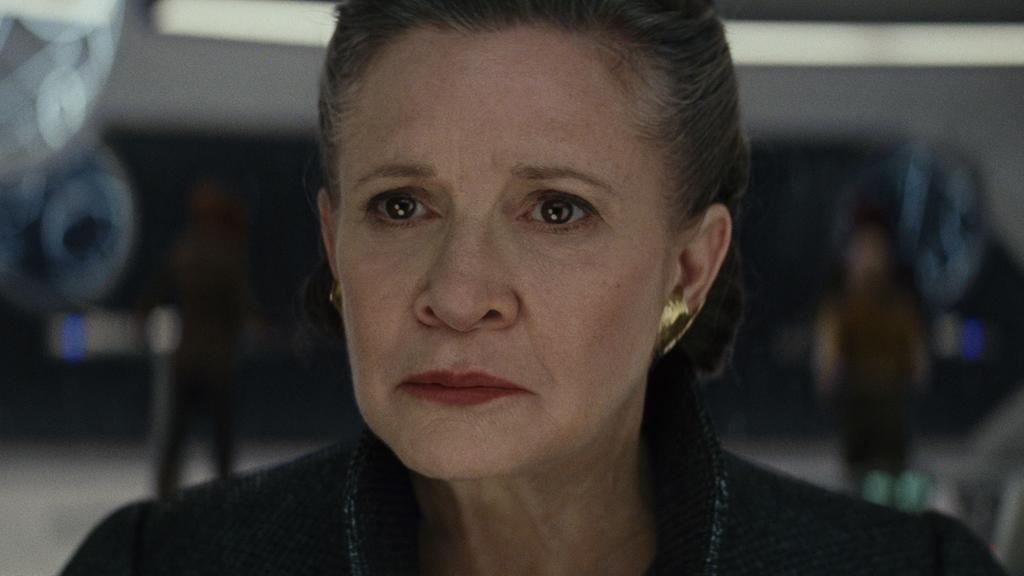Star Wars ultimos Jedi Recurso de Leia