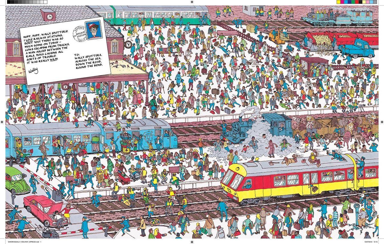 Los años 90: ¿Dónde está Wally? Una búsqueda a través de sus libros