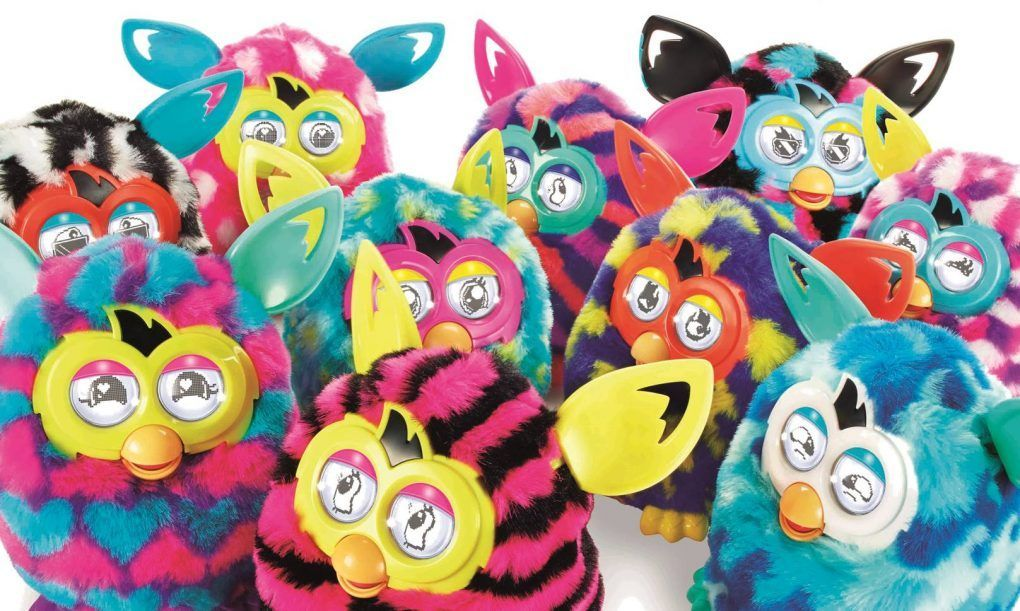 Furby de colorines