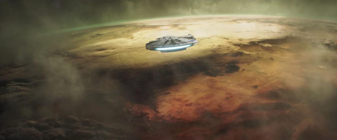 Han Solo visitando Mimban