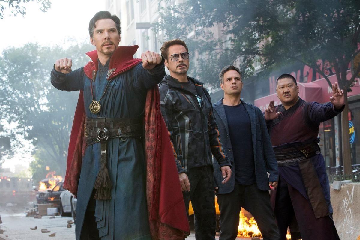 Vengadores Infinity War