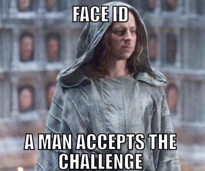 IPhone Face Unlock meme