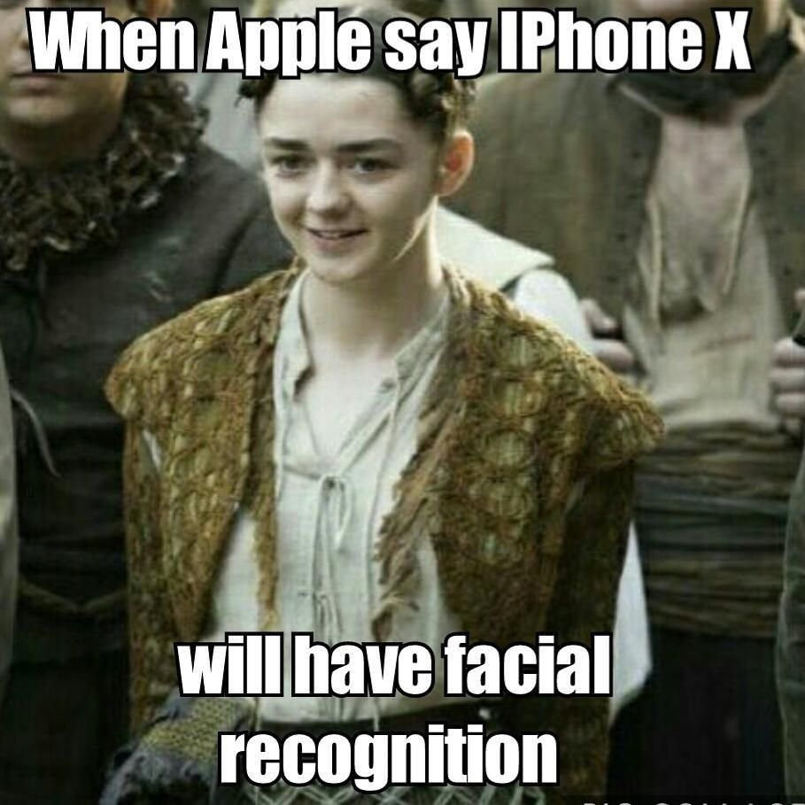 IPhone Face Unlock meme