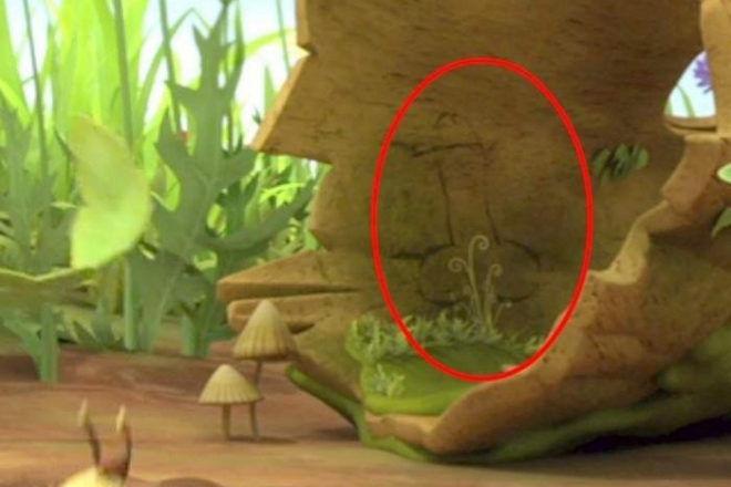 La abeja Maya pene oculto