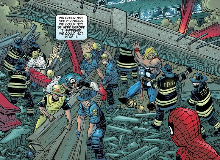 El 11-S y su influencia en los cómics de Marvel