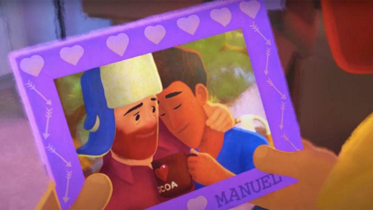 Disney presenta su primer protagonista gay en cortometraje